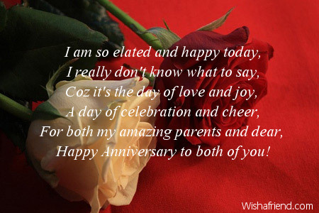 anniversary messages for parents
