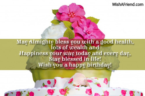 Religious Birthday Wishes Page