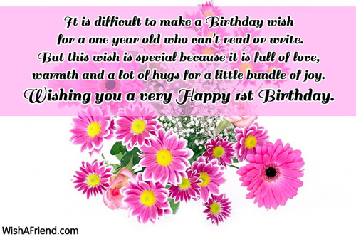 Birthday Quotes For A 3 Year Old Son : St birthday wishes page