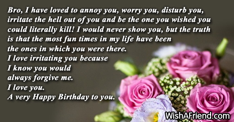 Birthday Wishes For Brother - Page 5