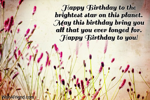 Birthday Quotes For A Friend Miles Away : Birthday greetings for friends