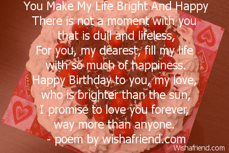 Birthday poems for the love of your life, polish dating usa