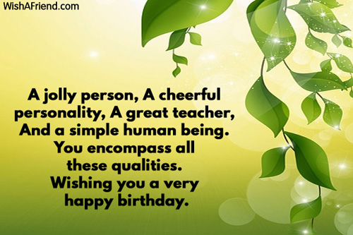 Birthday Wishes Quotes To Teacher : Birthday wishes for grandfather