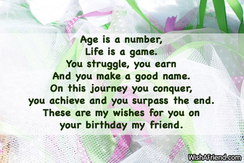 Birthday Wishes Friendship Quotes ~ Friends birthday sayings