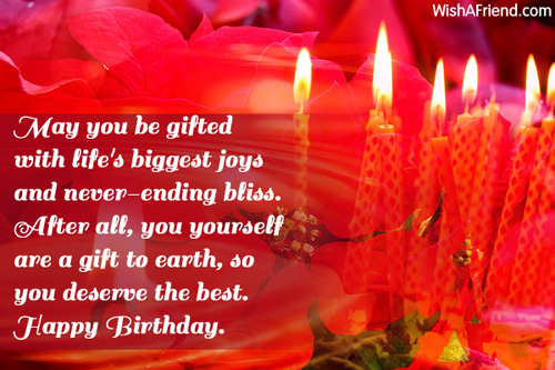 Birthday Wishes For Friends Happy Birthday Wishes For Yourself