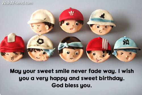 May your sweet smile never