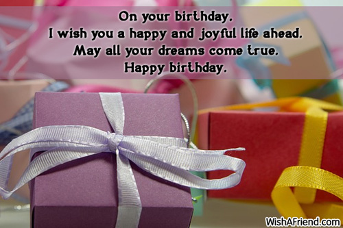 Birthday Wishes For Kids Turning 4 ~ Birthday wishes for kids