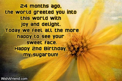 Birthday Wishes For Kids Turning 4 ~ Nd birthday wishes