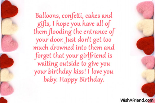 Birthday Wishes For Him Tumblr ~ Birthday wishes for boyfriend