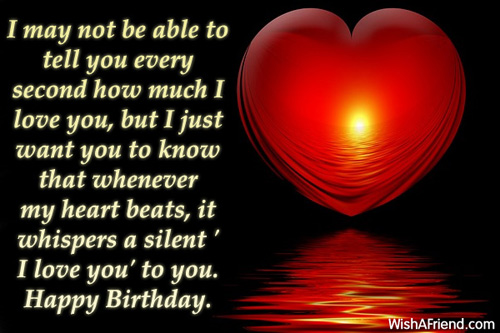 I May Not Be Able I Want To Wish You A Happy Birthday