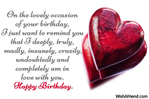 Best Wishes For Birthday Girl Friend : Birthday wishes for girlfriend page