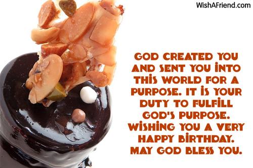 Birthday Cake For A Man Of God ~ Christian birthday wishes
