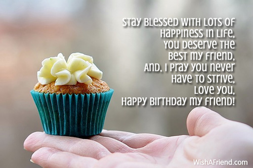 Birthday Wishes For Best Friend In English Images ~ Best friend birthday wishes page