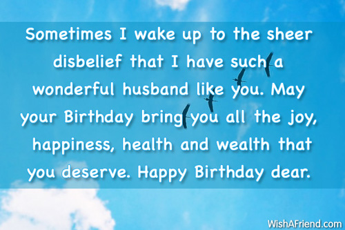 Birthday Wishes For Husband Page 3 Birthday Wishes Health Wealth And Happiness