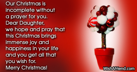 Our Christmas Is Incomplete Without A Christmas Message