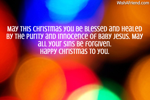 May this Christmas you be blessed, Christmas Blessings