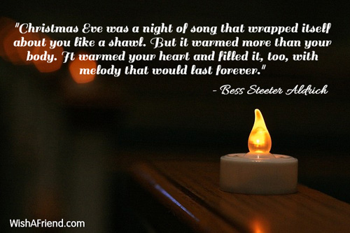 """Christmas Quotes And Graphics: """"Christmas Eve Was A Night Of, Famous Christmas Quote"""
