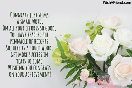 letter to friend congratulating on sucess Dear arun, i am extremely happy to note that you have passed your examination creditably and secured very high marks i congratulate you heartily on your brilliant success.
