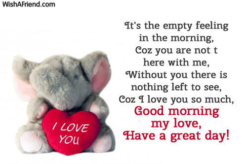 Good Morning Love Message For My Girlfriend : Good morning messages for girlfriend