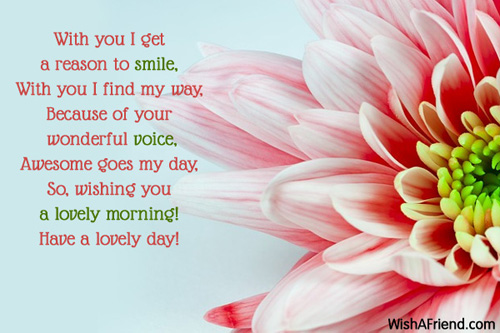 Good Morning Messages To My Girlfriend : Good morning messages for girlfriend