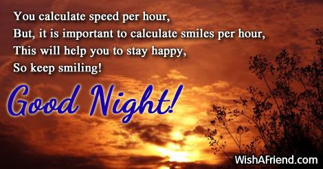 You calculate speed per hour,