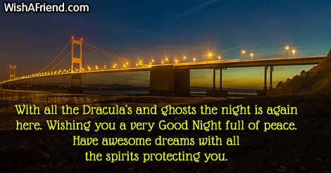 With all the Dracula's and