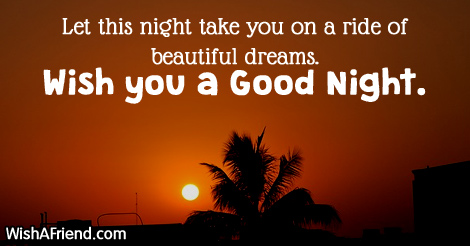 Let this night take you