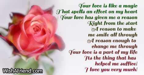Magic Of Love Poem Term Paper Example Lphomeworkwdwdhotel