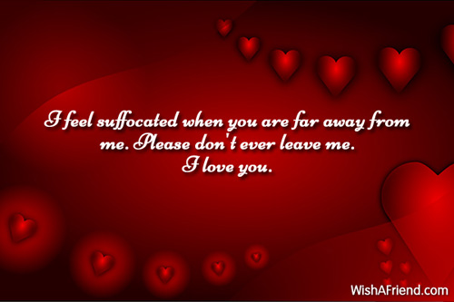 Don T Ever Leave Me Quotes: I Love You Messages