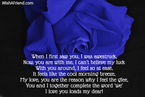 Love Poems For Wife Or Girlfriend