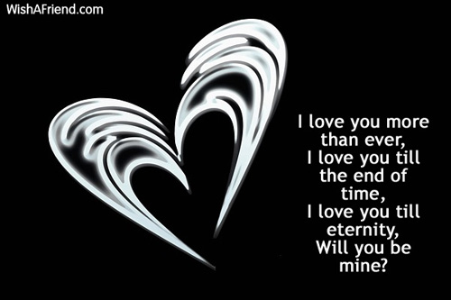 Love You Till The End Wallpapers : Sweet Love Sayings