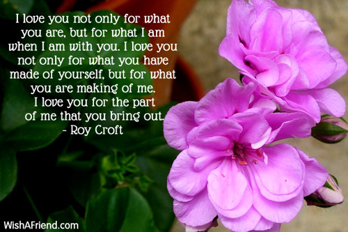 love you not only for, Famous Love Quote