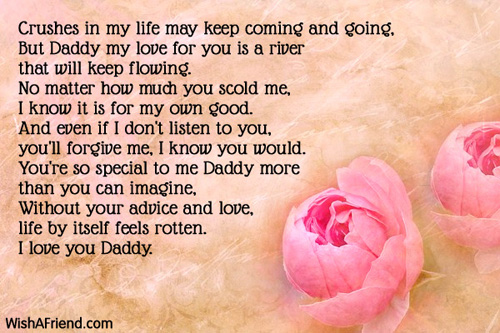 Love You DaddyCrushes in
