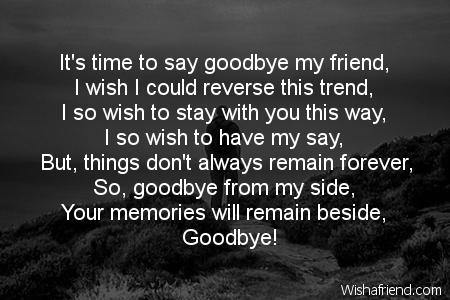 Goodbye Poems