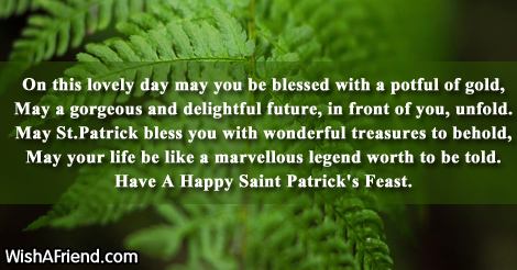 may you be blessed poem for st patrick s day
