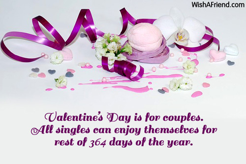 Funny Quotes About Valentines Day For Singles: Funny Valentine's Day Quotes