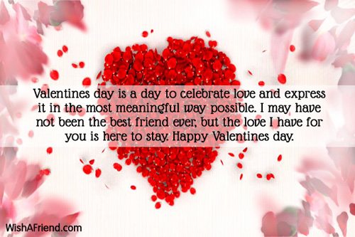 valentine day messages for friends