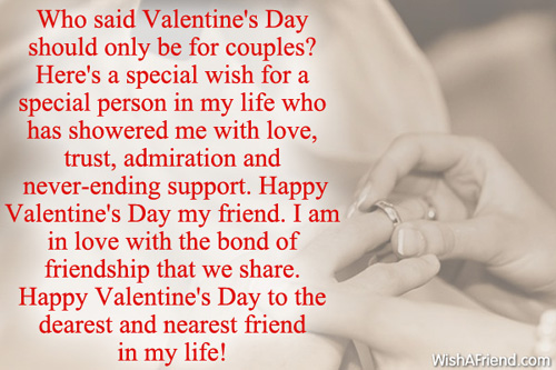 Valentine Quotes For Special Friends: Valentines day messages for ...