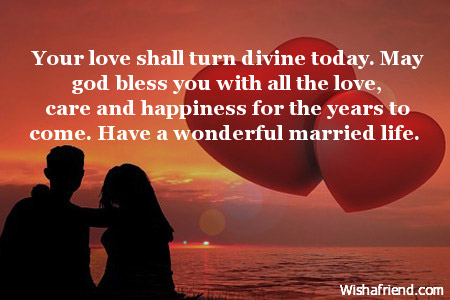 Shower marriage his allah may blessings on your Islamic Wedding