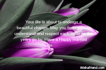 Your Life Is About To Undergo Wedding Wish